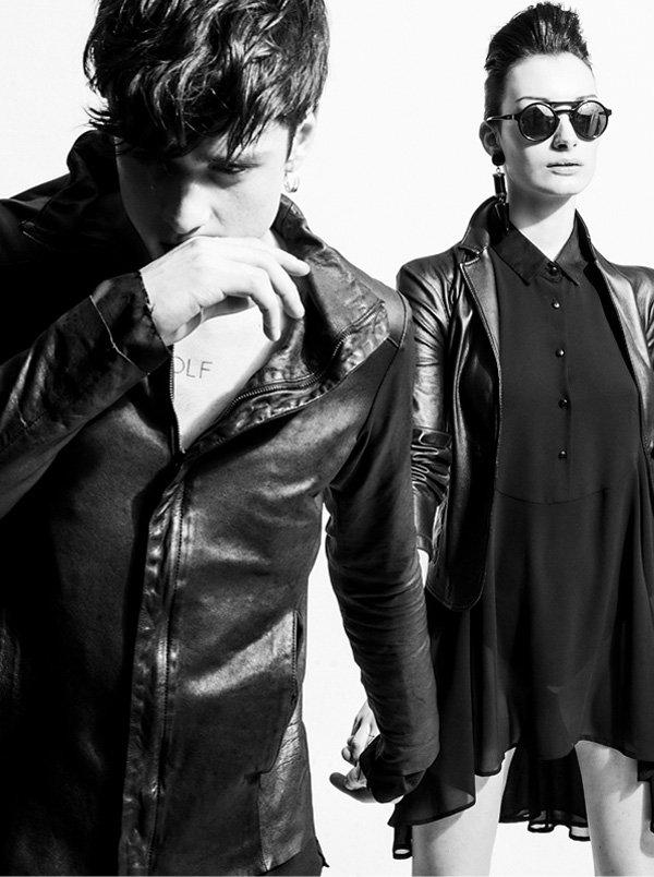 T-shirt: HTC Friends of Fender // Jacket: Andrea Ya'Aqov // Jacket: Jey Coleman // Shirt: Nara Camicie // Sunglasses: Maki