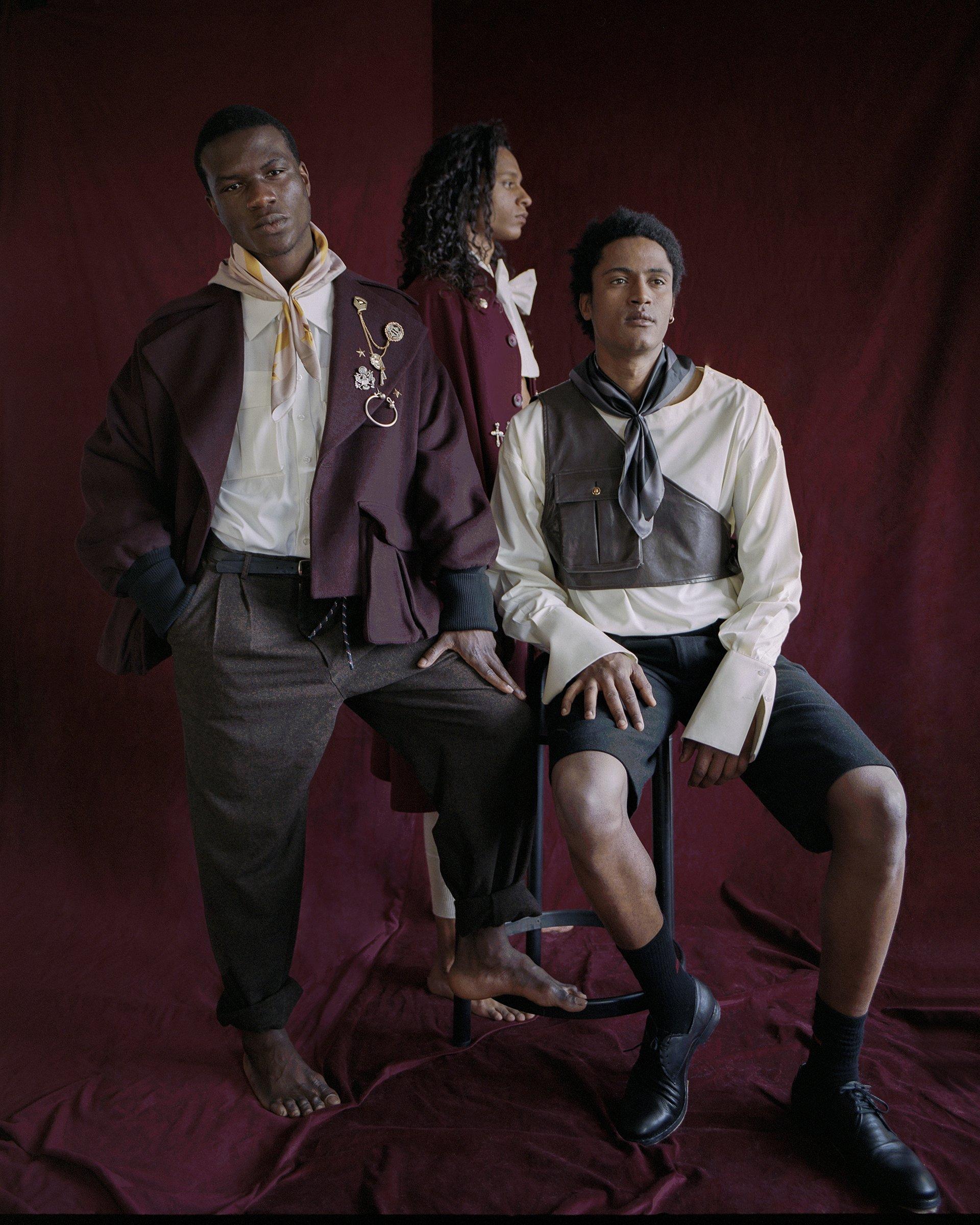 fashion editorial, buffalo style, the fashion atlas